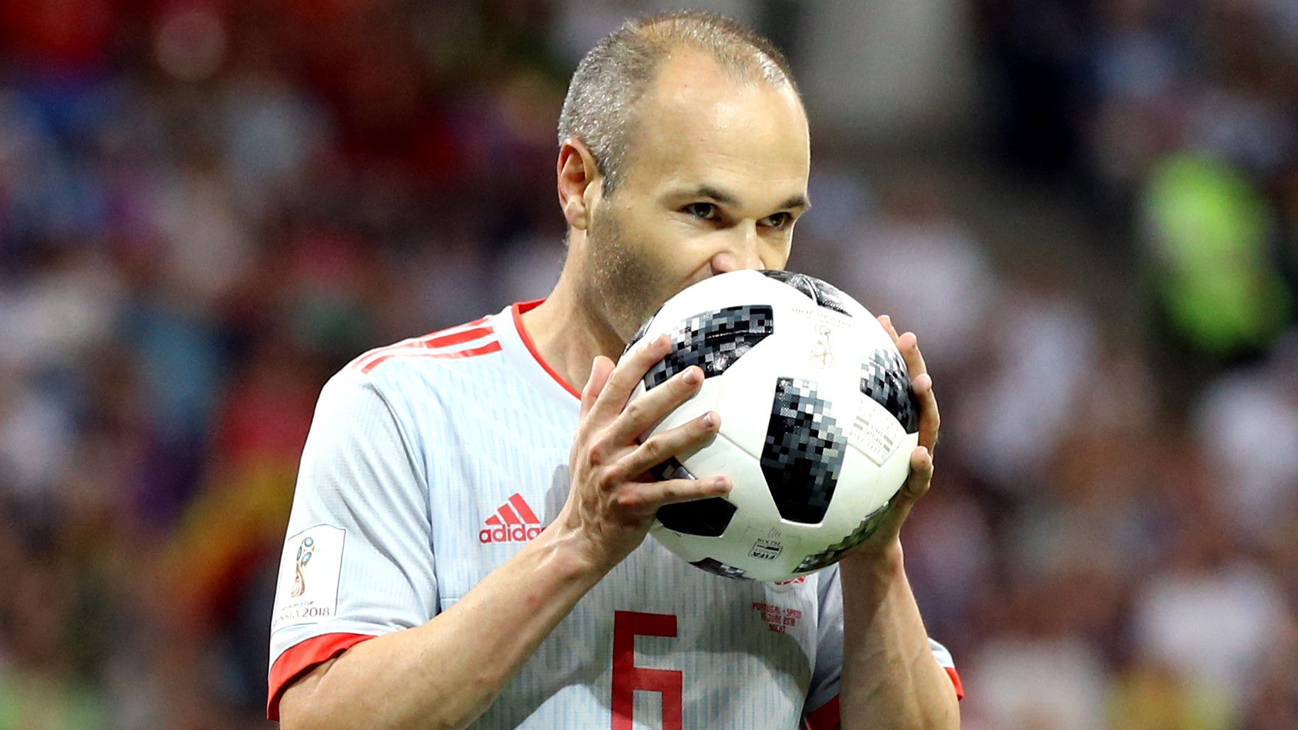 Andres Iniesta Portugal España Spain World Cup 15062018