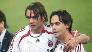 Paolo Maldini Filippo Inzaghi - Milan