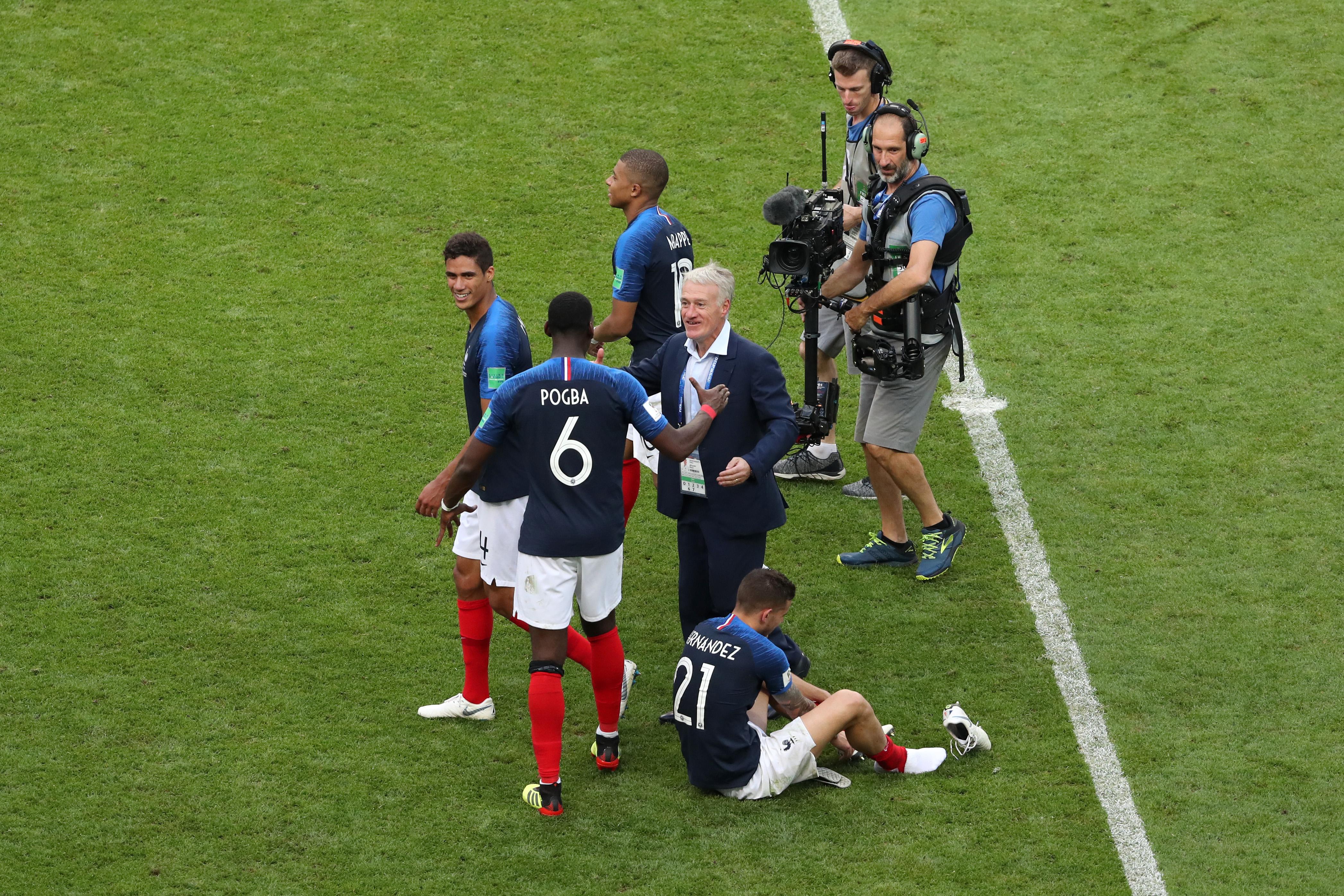 Didier Deschamps Paul Pogba France