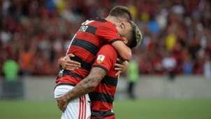 Gabigol Éverton Ribeiro Flamengo LDU Quito Libertadores 13032019