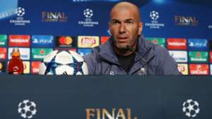 Zinedine Zidane Real Madrid conference