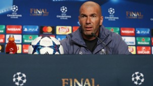 Zinedine Zidane Real Madrid conference