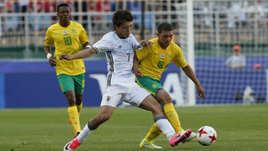 Japan Under-20, Ritsu Doan & South Africa Under-20, Grant Margeman