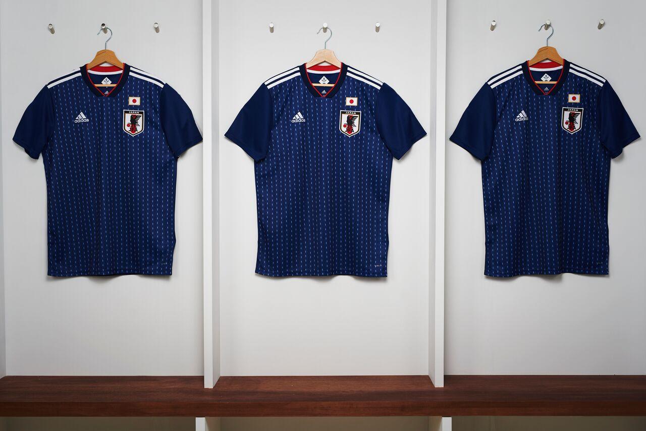 camiseta Japón Rusia 2018