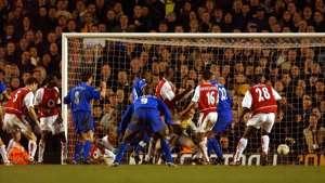 Chelsea arsenal champions league 2003/2004