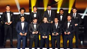 Xabi Alonso FIFA-Gala 07012013