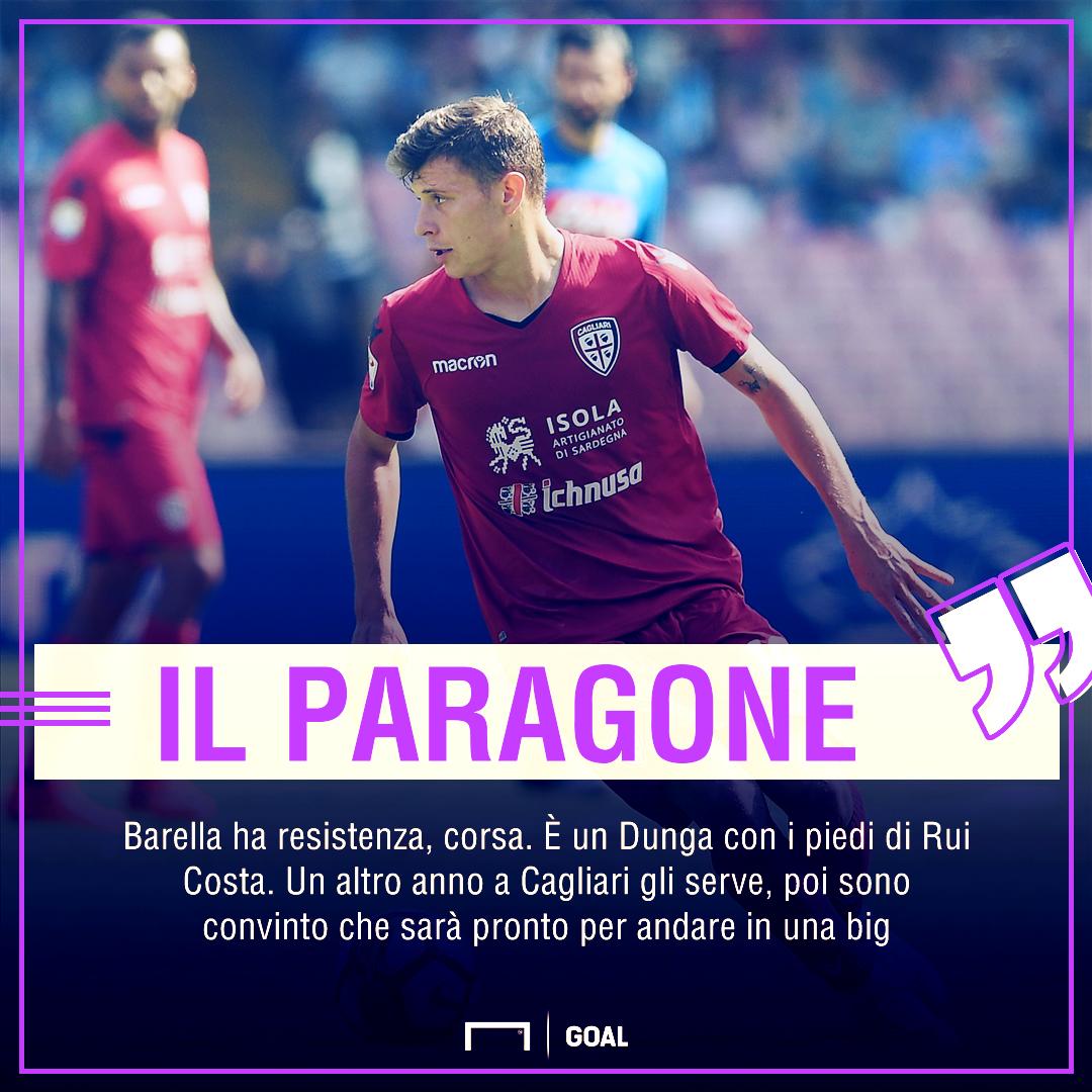 Milan-Inter, derby di mercato per Barella. In mezzo c'è la Juve