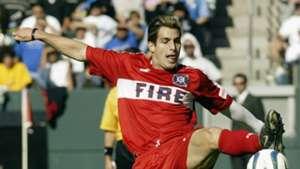 Carlos Bocanegra Chicago Fire MLS 2003