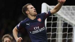 Aaron Ramsey Arsenal Fulham 071018