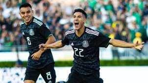 México Cuba Uriel Antuna Selección mexicana