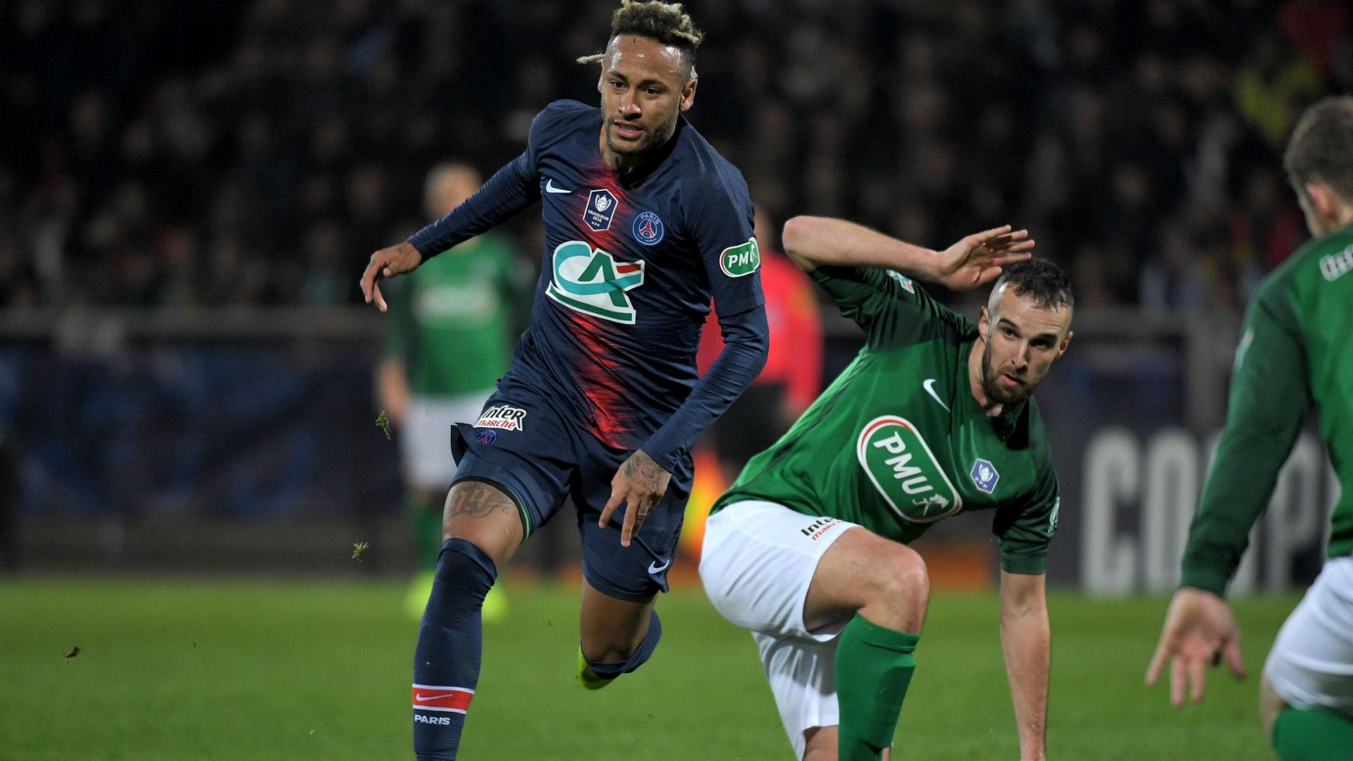 Neymar Pointivy PSG Coupe de France 06012019