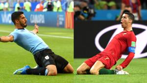 Luis Suarez vs Cristiano Ronaldo