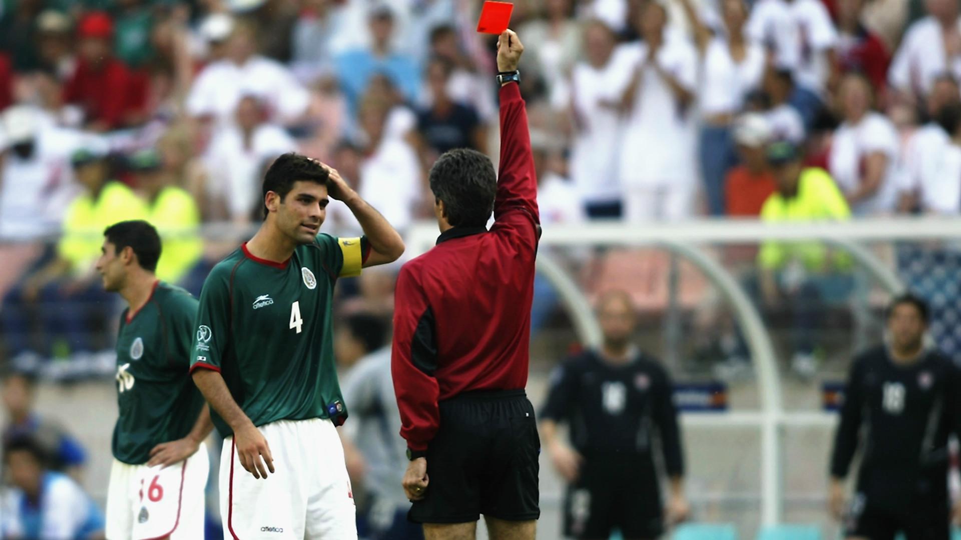 Rafael Marquez Mexico FIFA World Cup 2002