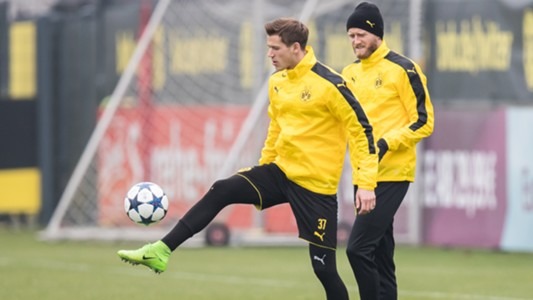 Andre Schürrle Erik Durm Borussia Dortmund Bundesliga 030717