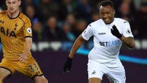 Jordan Ayew - Swansea City, Tottenham 05042017