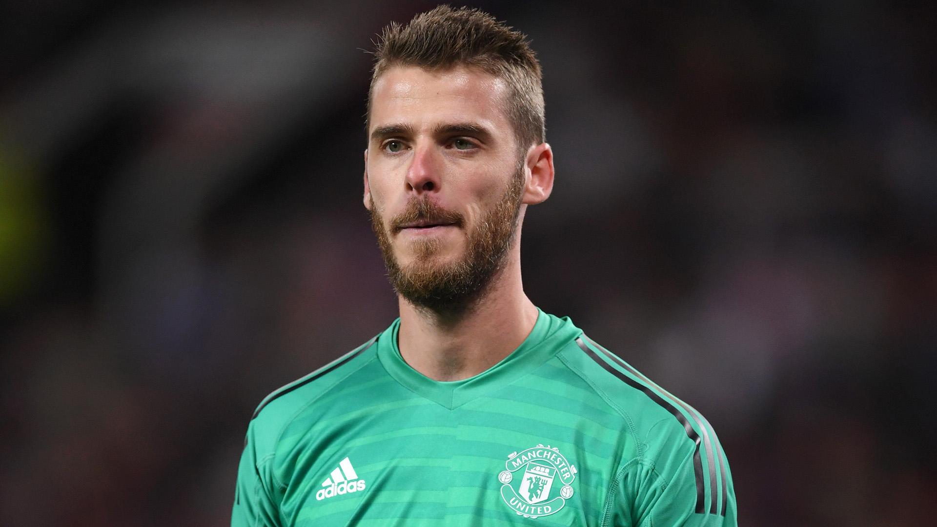 David de Gea Manchester United 18-19