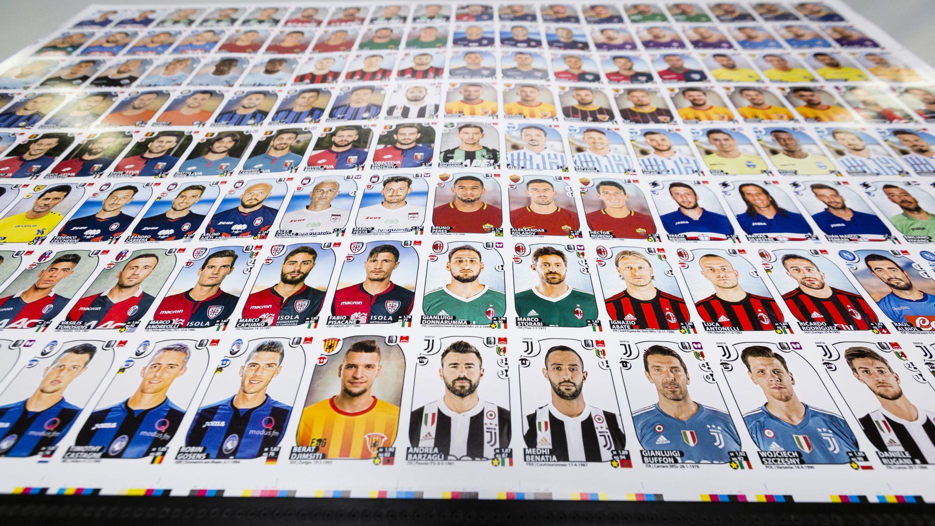 Torna il mitico Album Panini: 128 pagine dedicate al calcio