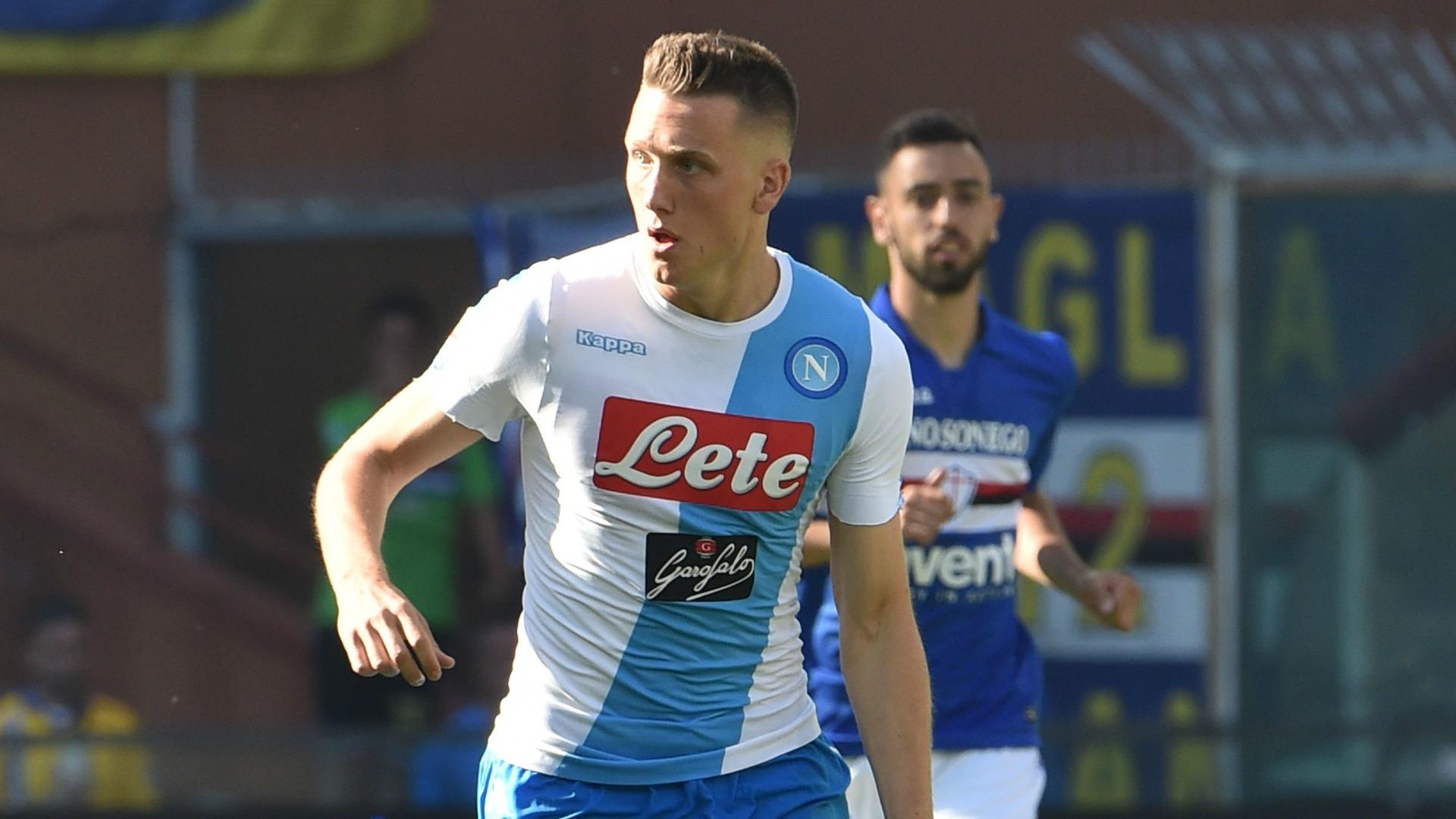 Piotr Zielinski Sampdoria Napoli