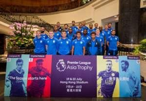 West Bromwich Albion arrive at Hong Kong for the Premier League Asia Trophy.