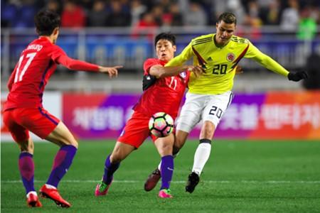 Gio Moreno Colombia vs Corea