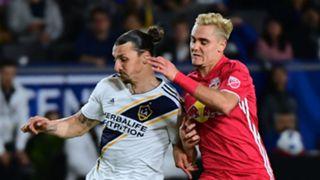 Zlatan Ibrahimovic Aaron Long LA Galaxy MLS 05032019