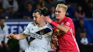 Zlatan Ibrahimovic Aaron Long LA Galaxy MLS 05032019