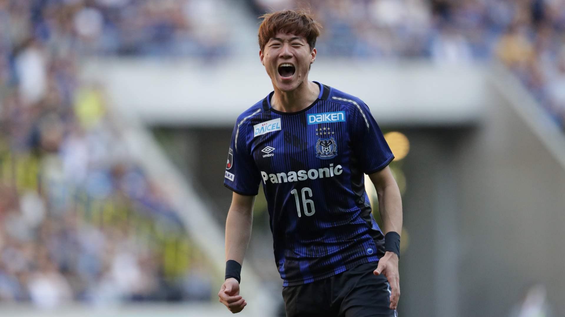 HWANG Ui Jo Gamba Osaka 2019-05-04