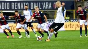 Mauro Icardi penalty Bologna Inter