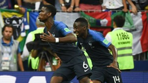Paul Pogba Blaise Matuidi France World Cup final 2018