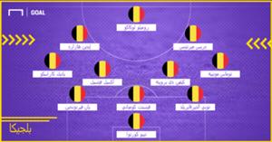 Belgium Probable XI WC 2018