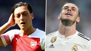 Mesut Ozil Gareth Bale GFX