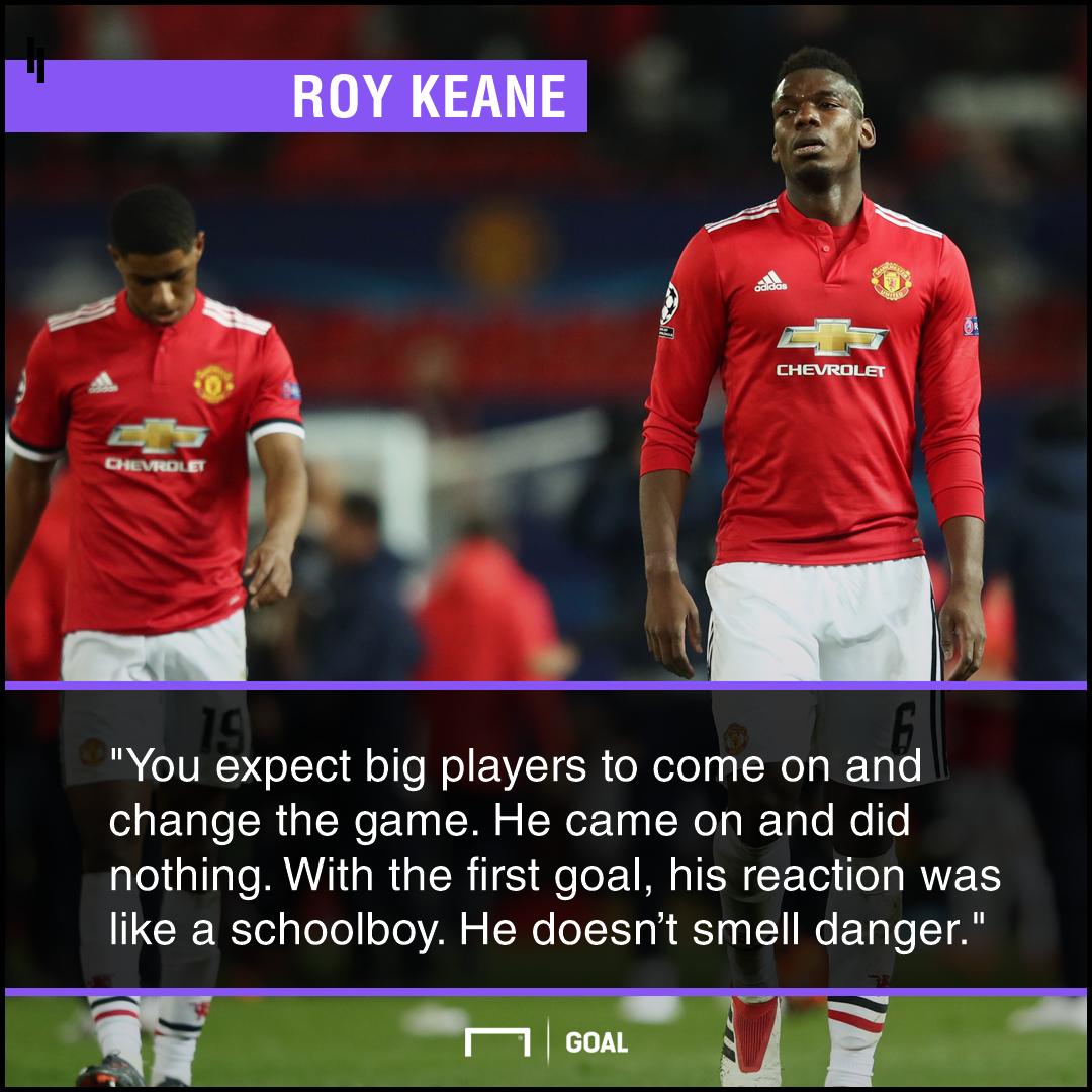Paul Pogba schoolboy Roy Keane