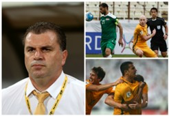 Ange Postecoglou Aaron Mooy Tim Cahill Australia World Cup qualifying