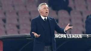 Carlo Ancelotti Napoli Zurich Europa League