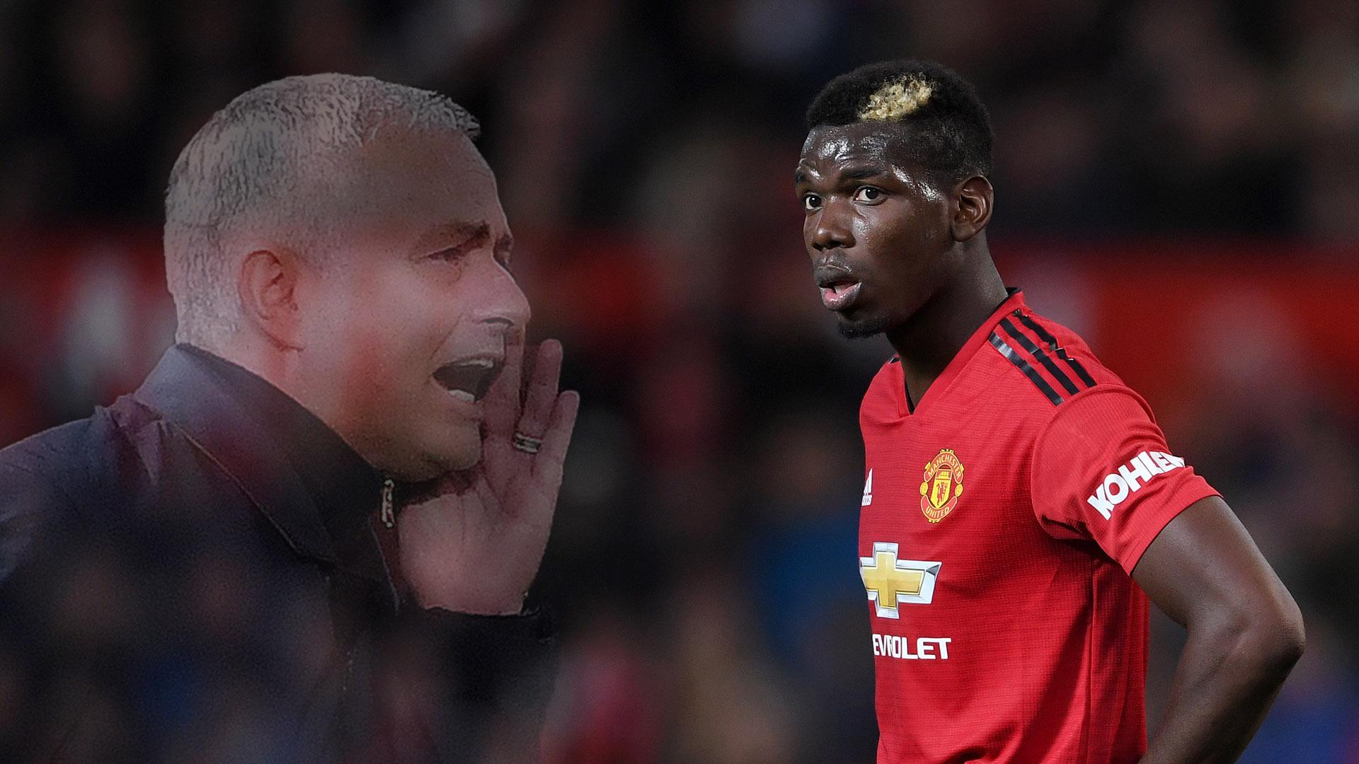 Paul Pogba Is Man Utds De Facto Captain As Jose Mourinho Storm Rages On Goal Com