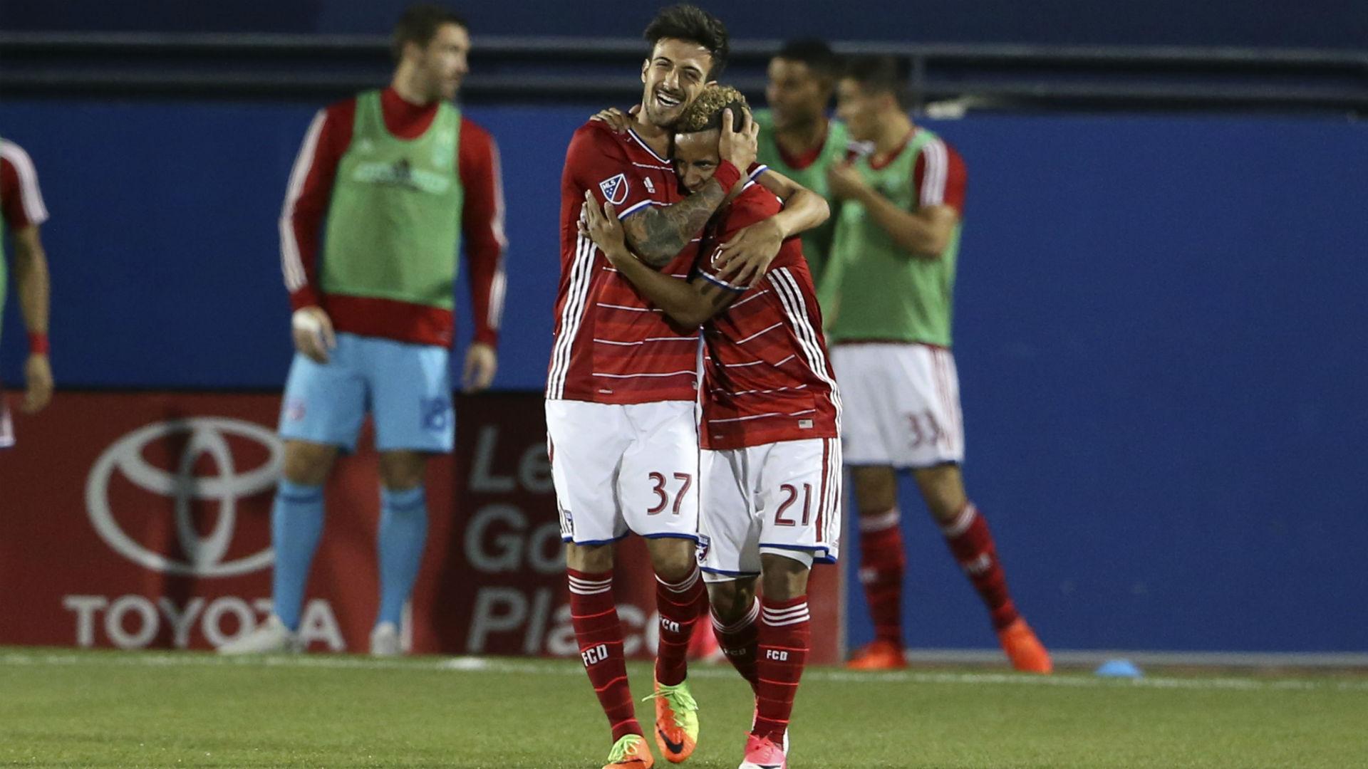 Michael Barrios Maximiliano Urruti FC Dallas MLS