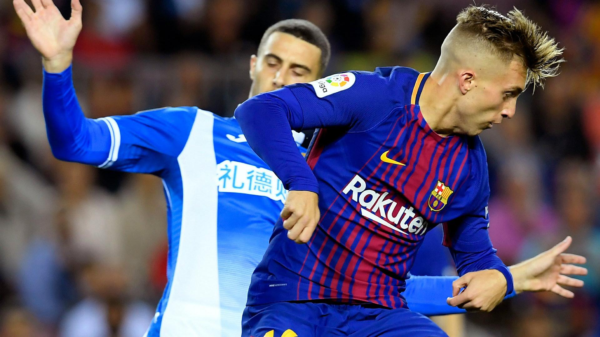 Gerard Deulofeu Barcelona Espanyol La Liga