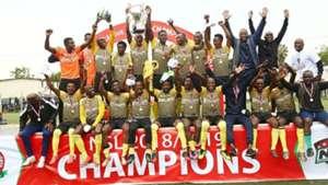 Wazito win NSL trophy.