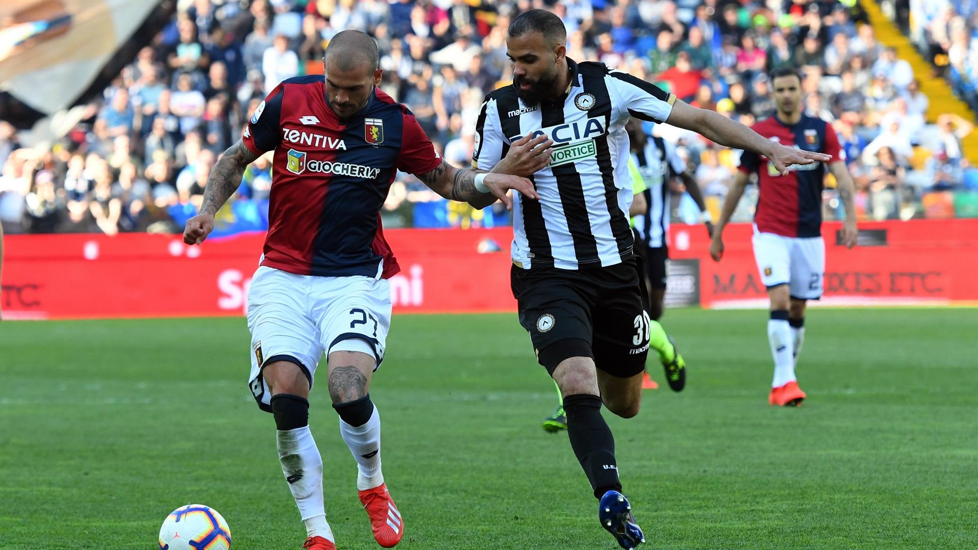 Stefano Sturaro Sandro Raniere Udinese Genoa Serie A 03302019