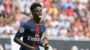 Timothy Weah Paris Saint-Germain PSG Bayern Munich International Champions Cup