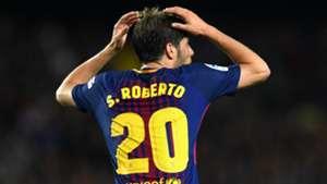 Sergi Roberto Barcelona 2017-18