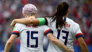 Megan Rapinoe Alex Morgan U.S. women