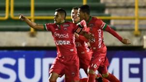 Boyacá Patriotas gol a Everton Copa Sudamericana