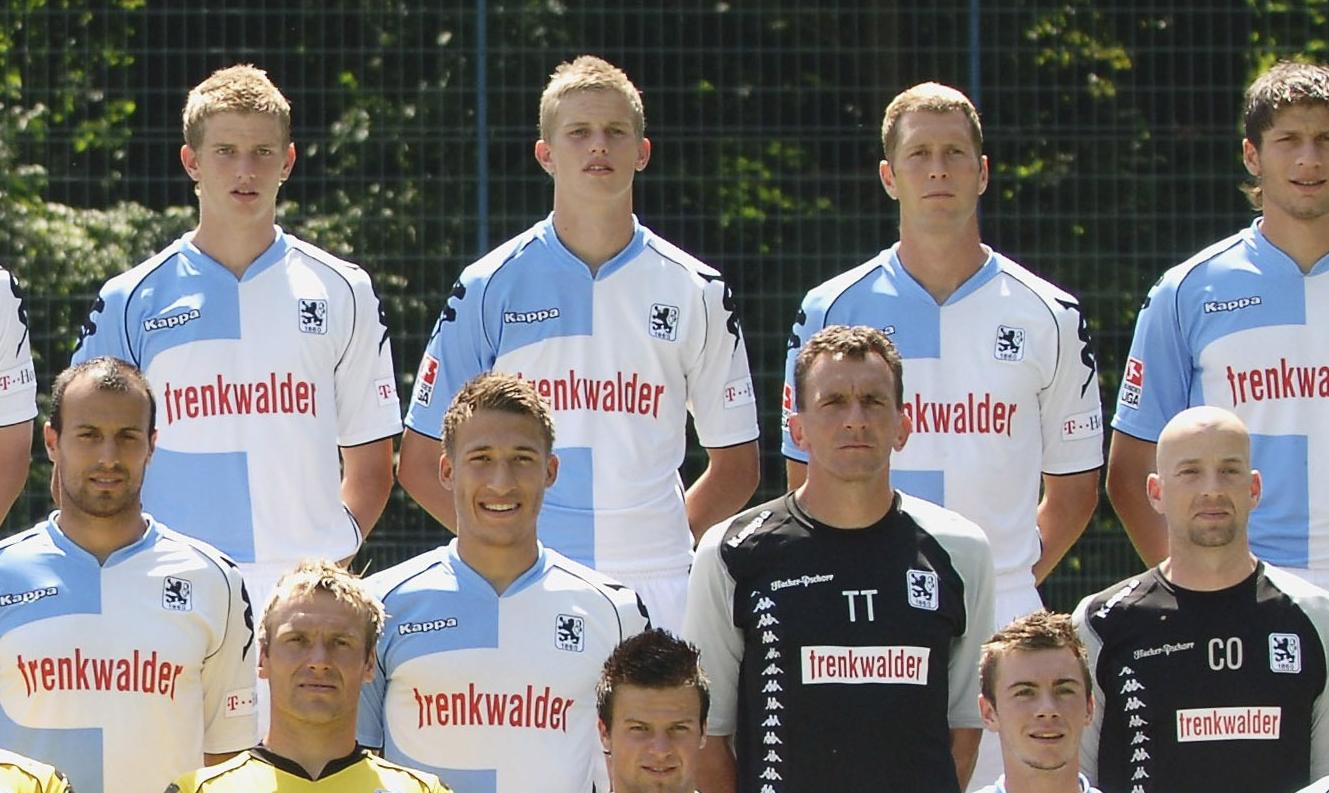 Fabian Johnson Gregg Berhalter 1860 Munich 2008
