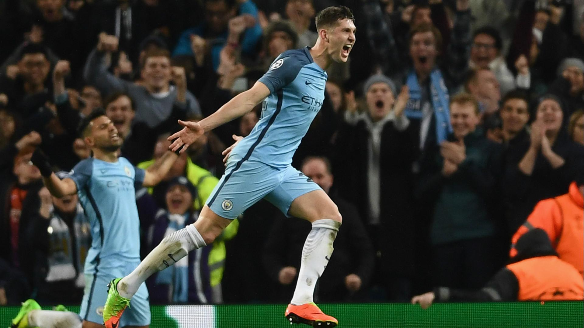 John Stones Manchester City Champions League