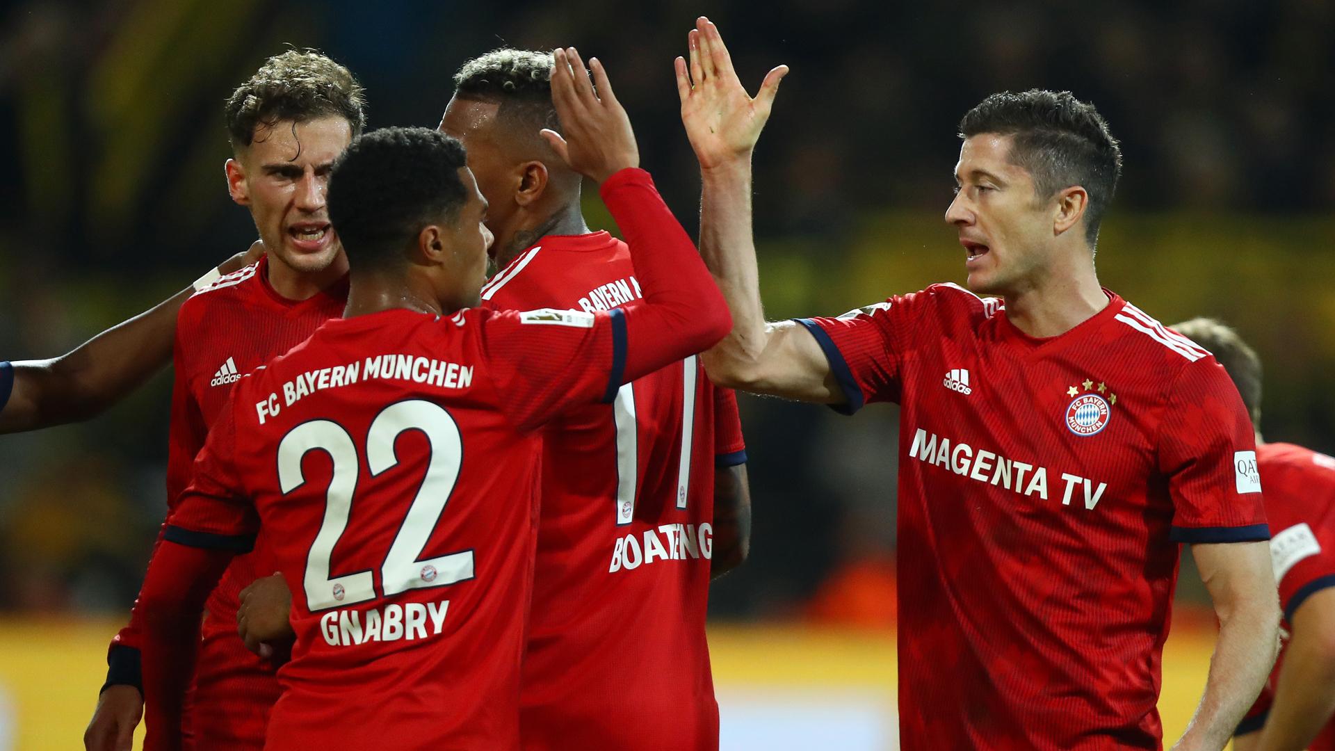 Lewandowski BVB Bayern 10112018