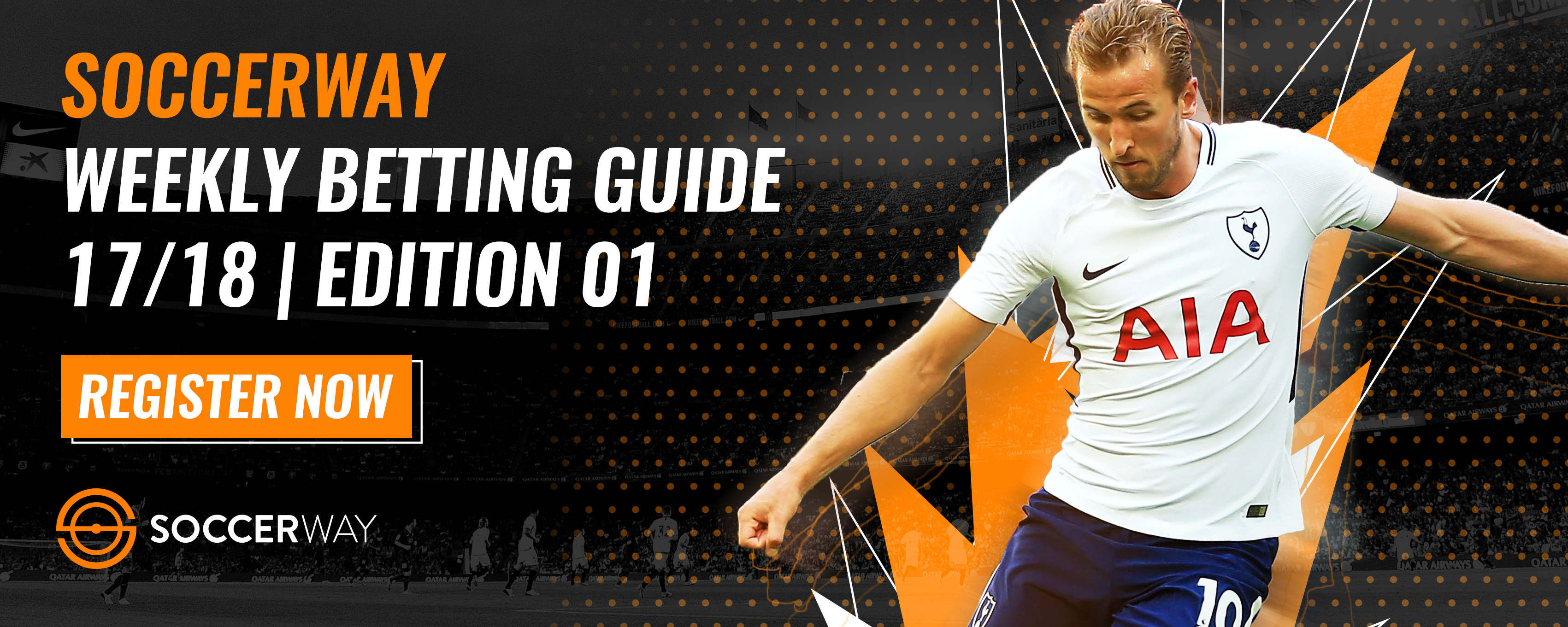 Soccerway's weekly betting guide is back! Register for your