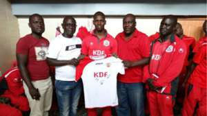James Saruni feted as player of the month for March at Ulinzi Stars