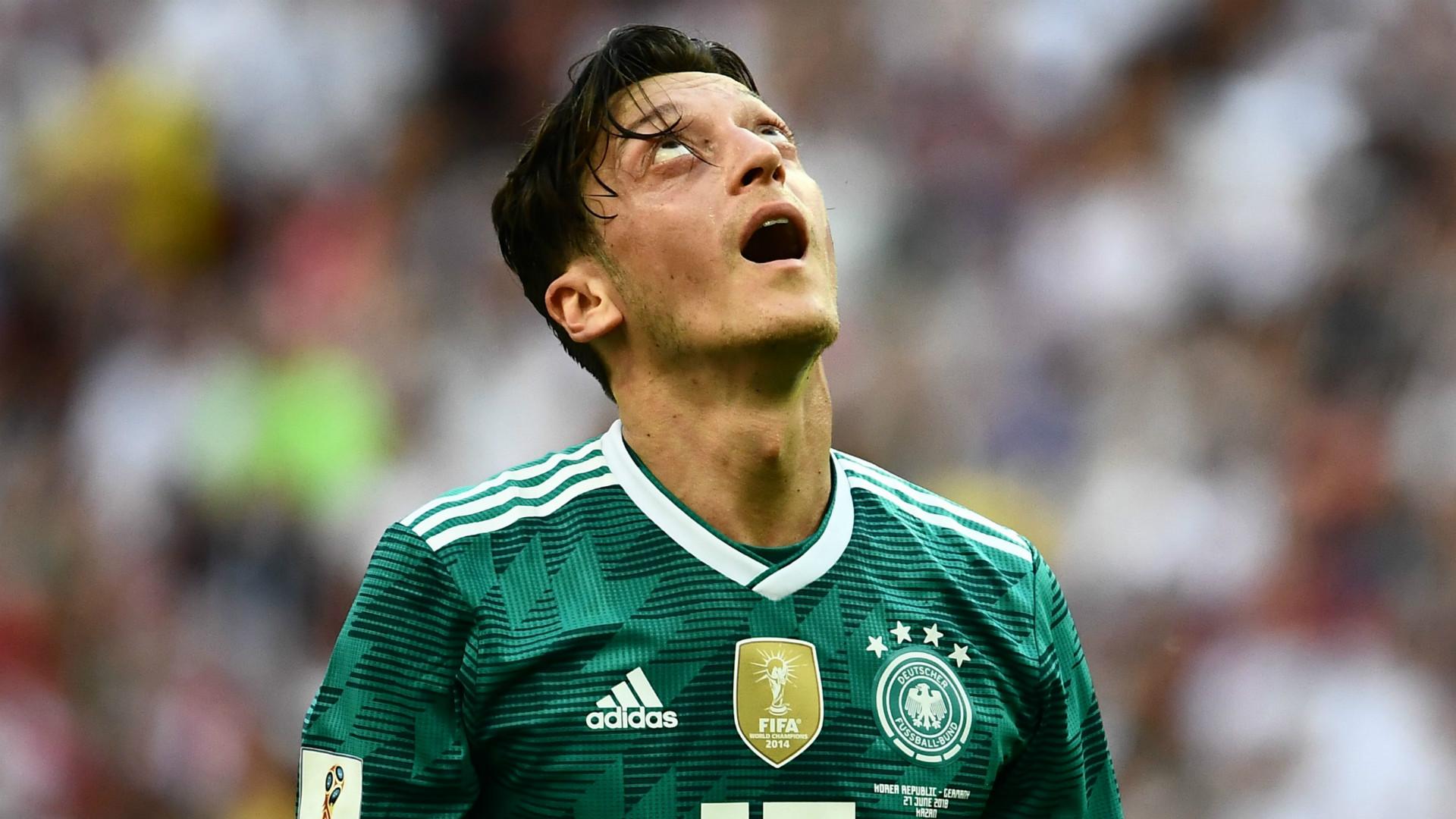 Germany coach Joachim Loew rules out Mesut Ozil return