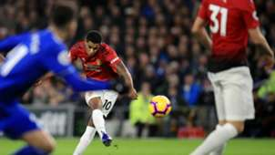 Marcus Rashford Cardiff vs Manchester United Premier League 2018-19